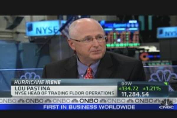 NYSE's Storm Contingency Plans