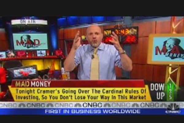 Cramer's Investing Rules