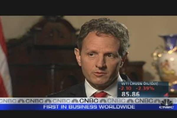 Geithner on Political Realism