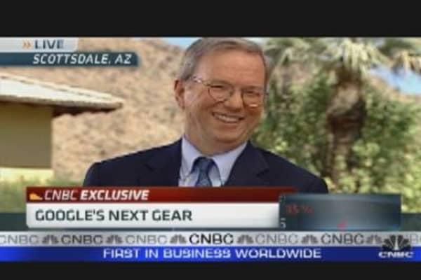 Eric Schmidt on Google's Next Gear