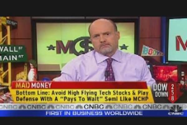 Cramer Says Microchip Tech Pays to Wait