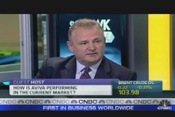 CEO: Aviva Happy With Euro Zone Exposure