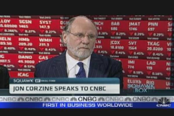 Occupy Wall St Like Tea Party: Jon Corzine