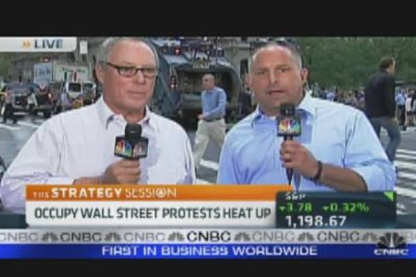 Asher Edelman Supports Occupy Wall Street