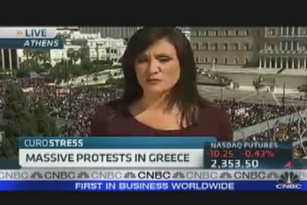 Strike Shuts Down Greece