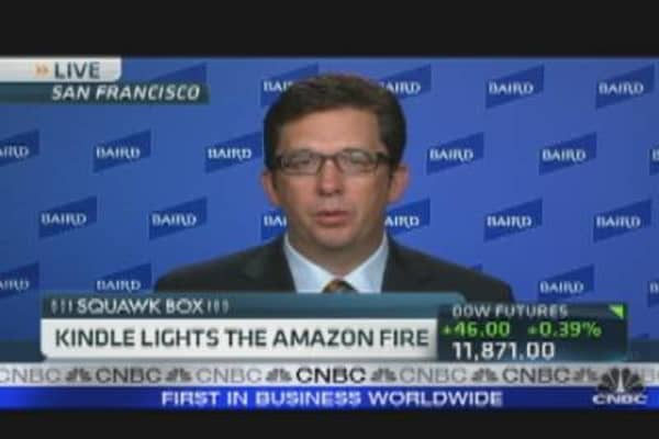 Kindle Lights The Amazon Fire
