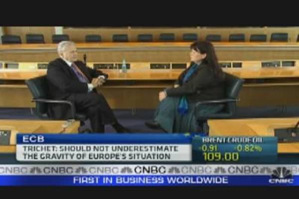 Nations Underestimated Gravity of Debt Crisis: Trichet