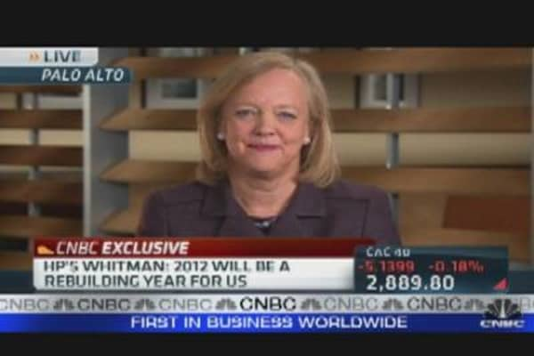 Meg Whitman's  First Report Card