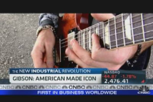 Gibson Guitars: American-Made Icon