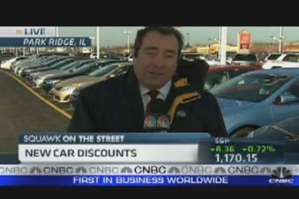 New Car Discounts Black Friday