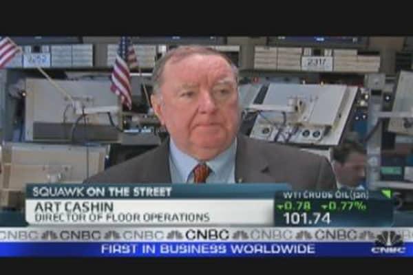 Art Cashin's Market Outlook