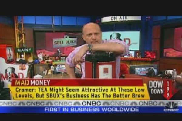 Cramer: Teavana is No Starbucks