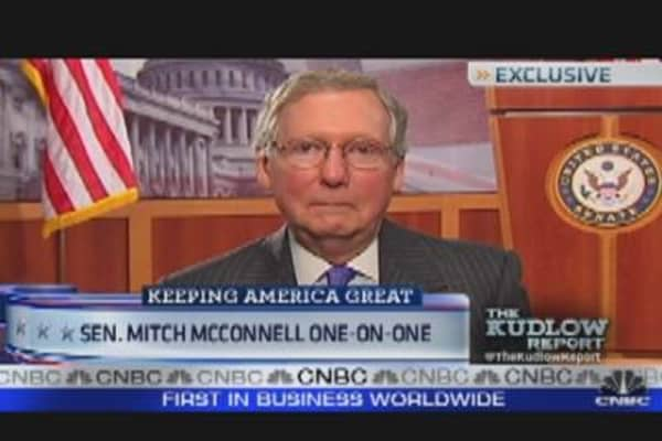 One-On-One with Sen. Mitch McConnell