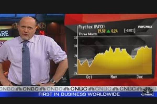 Dividend Stocks Offer Sweet Payout: Cramer