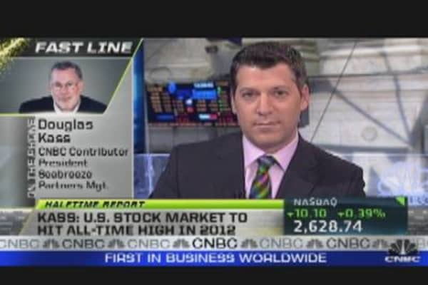 Kass: Market to Hit All-Time High in 2012