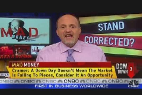 Cramer's Favorite 'Down Days' Stocks