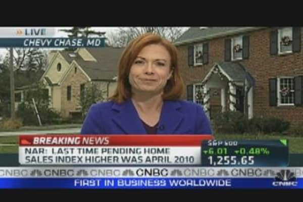 Pending Home Sales Rise