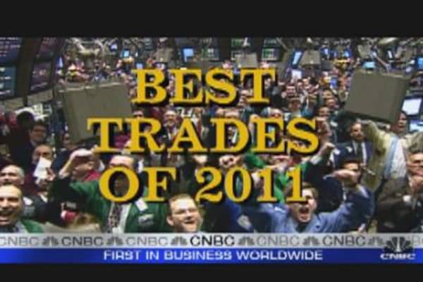 Fast Money's Best Trades of 2011
