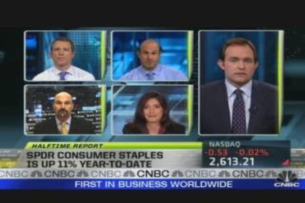 SPDR Consumer Staples is Up 11%