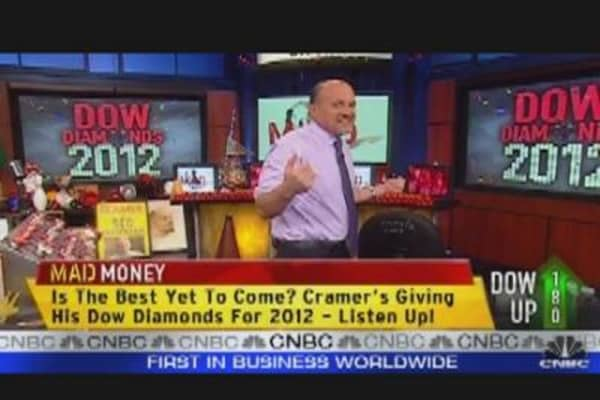 Cramer's 'Diamond' in the Dow: AT&T
