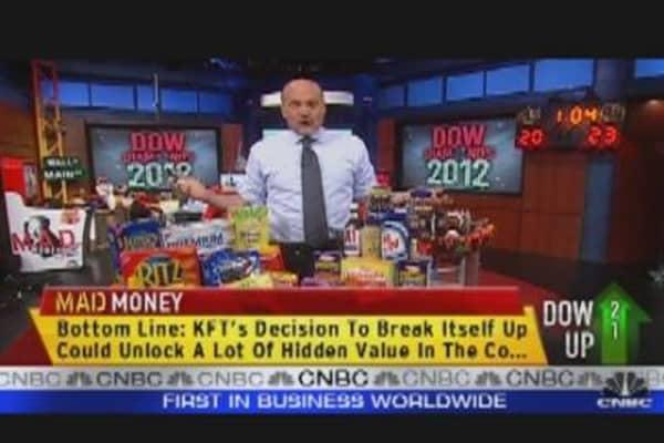 Cramer's 'Diamond' of the Dow: Kraft