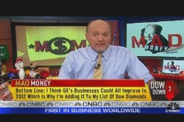 Cramer's Dow 'Diamond' Stock: GE