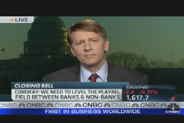 Will Cordray Target Mortgage Companies?