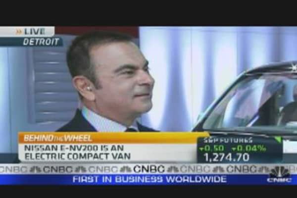 Carlos Ghosn on Nissan Sales