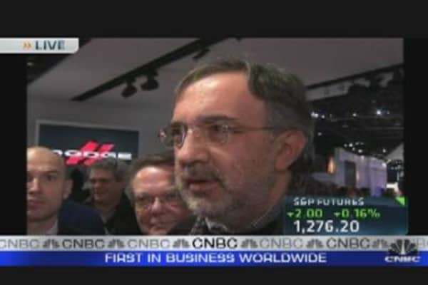 Chrysler CEO: Auto Industry Extremely Competitive