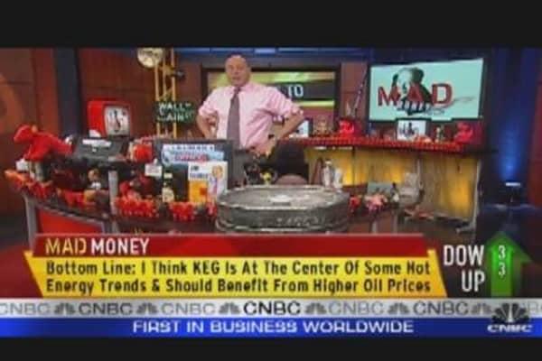 Cramer's Key Energy Play: Oil