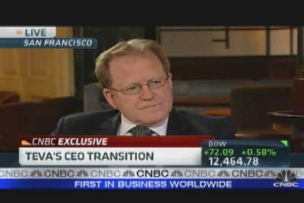 Inside Teva's CEO Transition