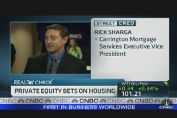 Private Equity Bets on Housing