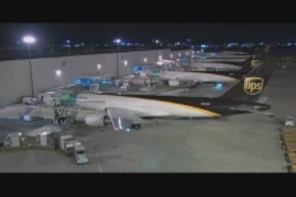 UPS Airlines Cuts Fuel Costs