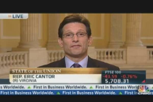 Rep. Cantor: Growing Business