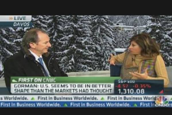 Morgan Stanley CEO:  U.S. in Better Shape