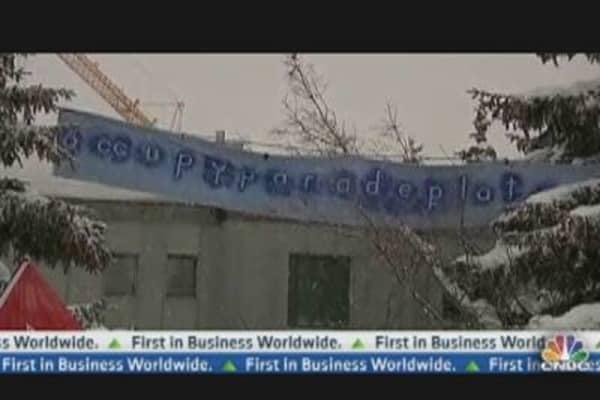 Occupy Davos Movement