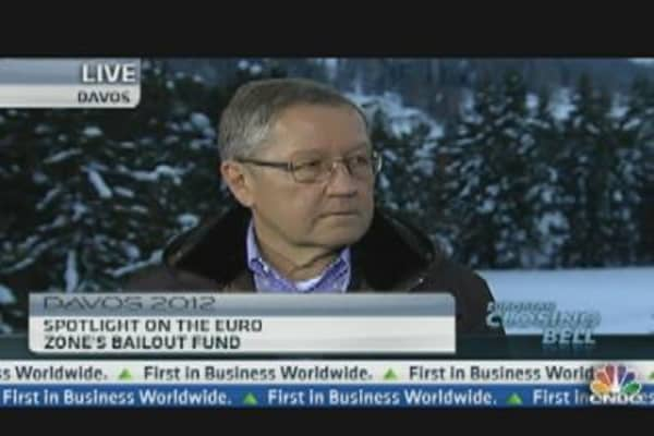 Davos Views on Europe Are Excessively Negative: EFSF's Regling