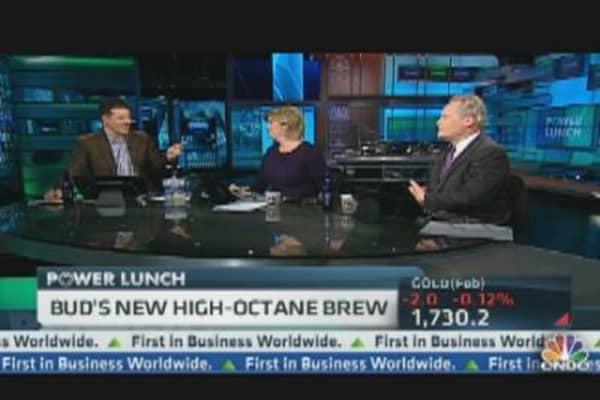 Budweiser's High-Octane Beer