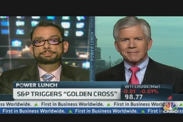 S&P Triggers 'Golden Cross'