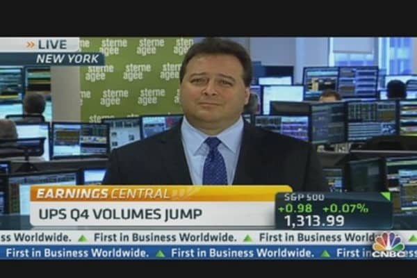 UPS 2012 Profit Forecast Tops Estimates