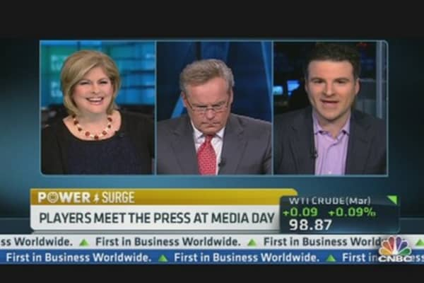 Super Bowl Media Day Kicks Off