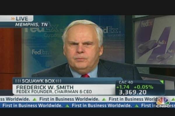FedEx CEO on Job Growth & Competitveness