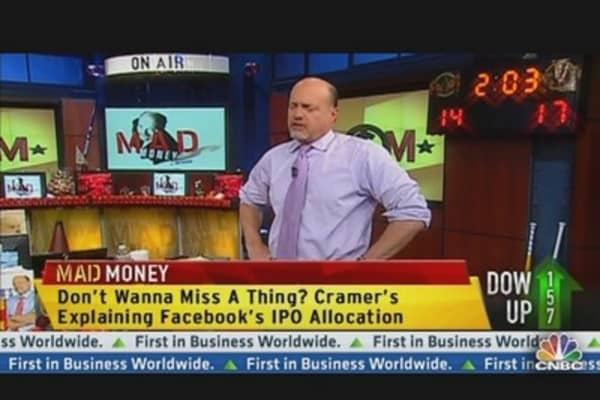 Morgan Stanley: Cramer's Best Play on Facebook