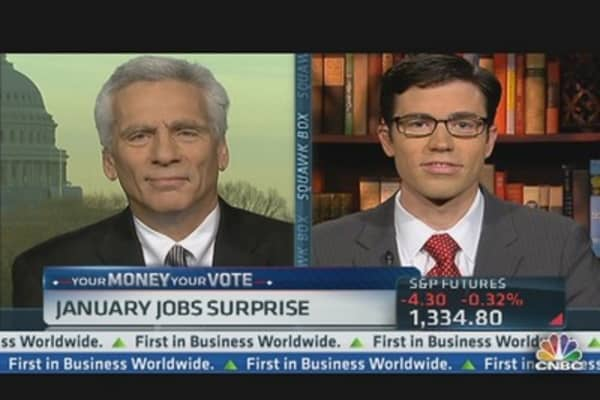 January Jobs Numbers Change Course of Election?