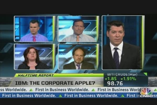 IBM the Apple of Corporates?