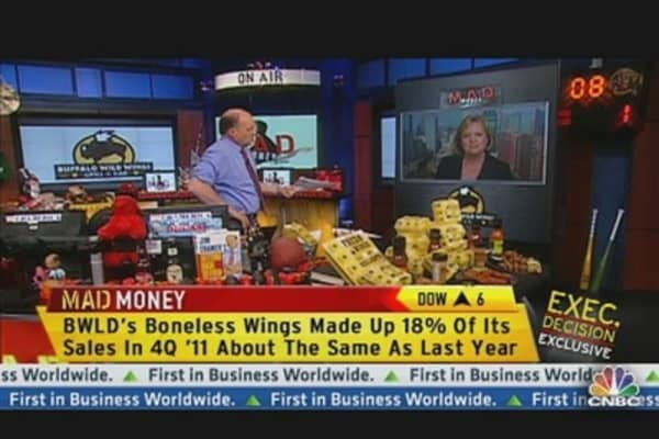 Buffalo Wild Wings Delivers Blazing Hot Quarter