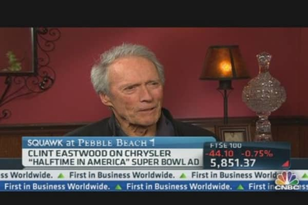 Clint Eastwood on Chrysler's Super Bowl Ad