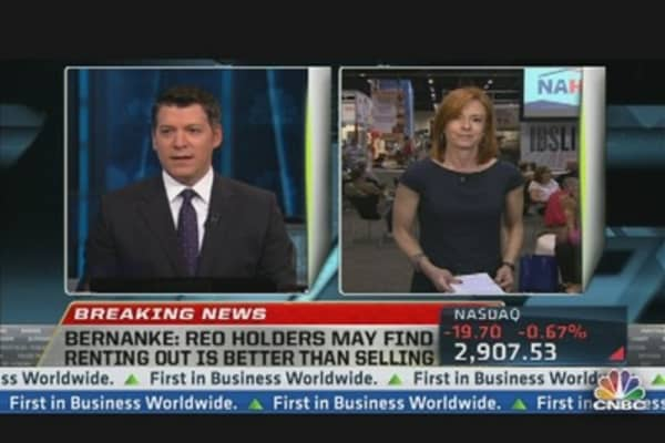 Bernanke on Housing Market
