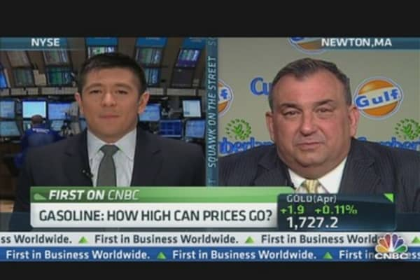 Gulf Oil CEO on Rising Gasoline Prices