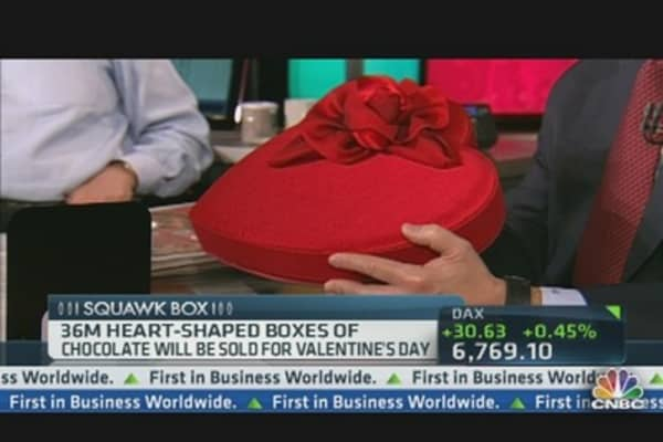 Godiva CEO on Valentine's Sales
